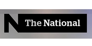 CBC The National logo